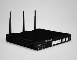 3D CGAxis WiFi antena router