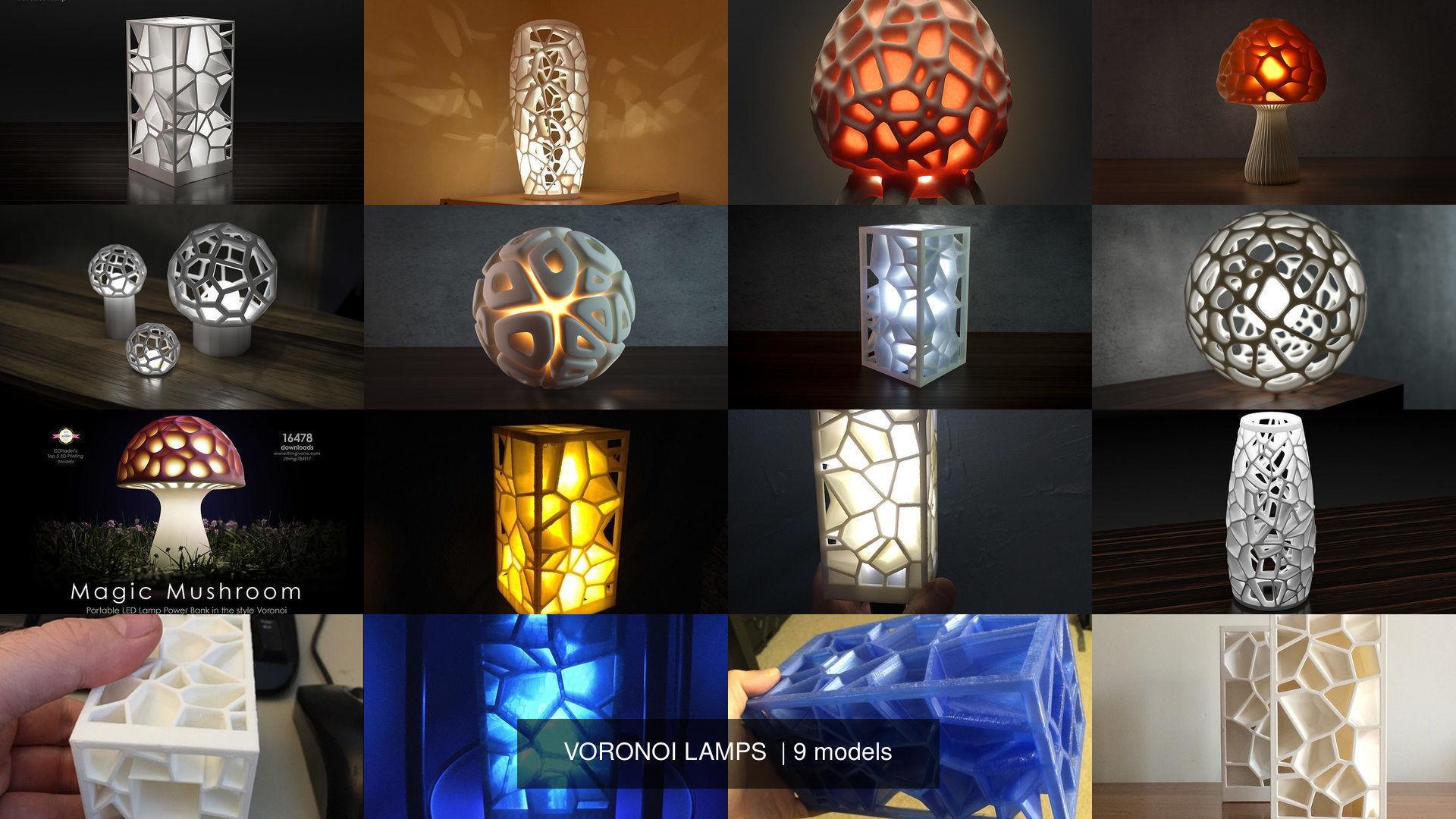 VORONOI LAMPS