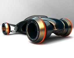 future car concept 3D Model