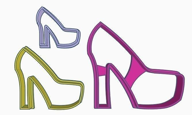 Shoes Cookie Cutter Set