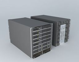 Huawei E9000 Mixed Server Blades 3D