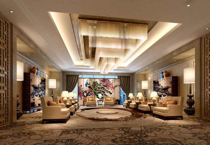 astounding 3d luxury living rooms | 3D Luxury meeting room | CGTrader