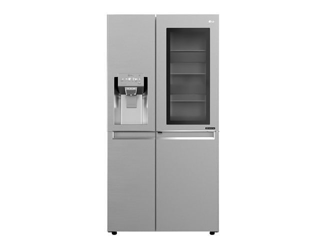 instaview refrigerator with non plumbed water and ice dispenser 3d model max obj mtl fbx 1