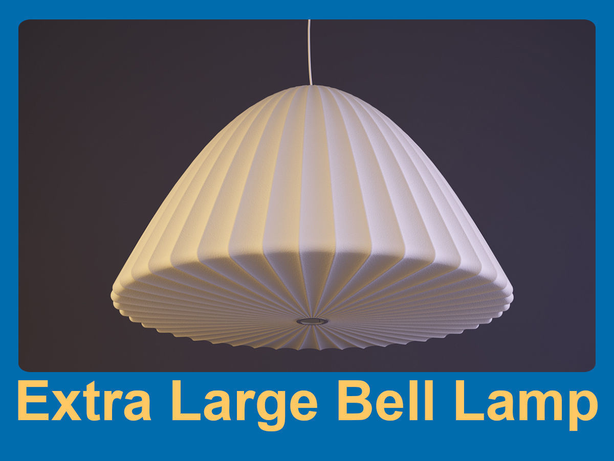 Extra Large Bell Lamp