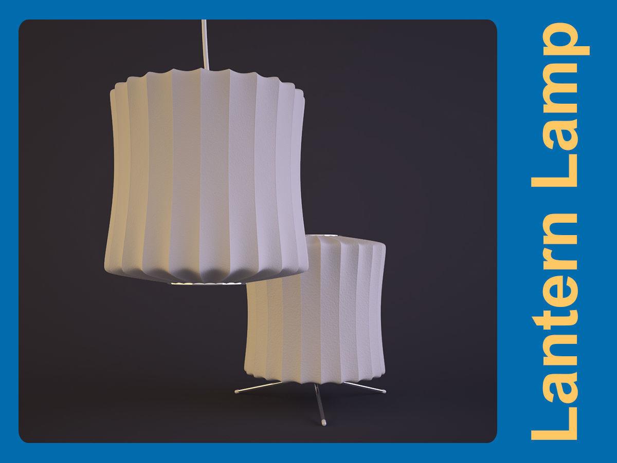 George Nelson-Lantern Lamp