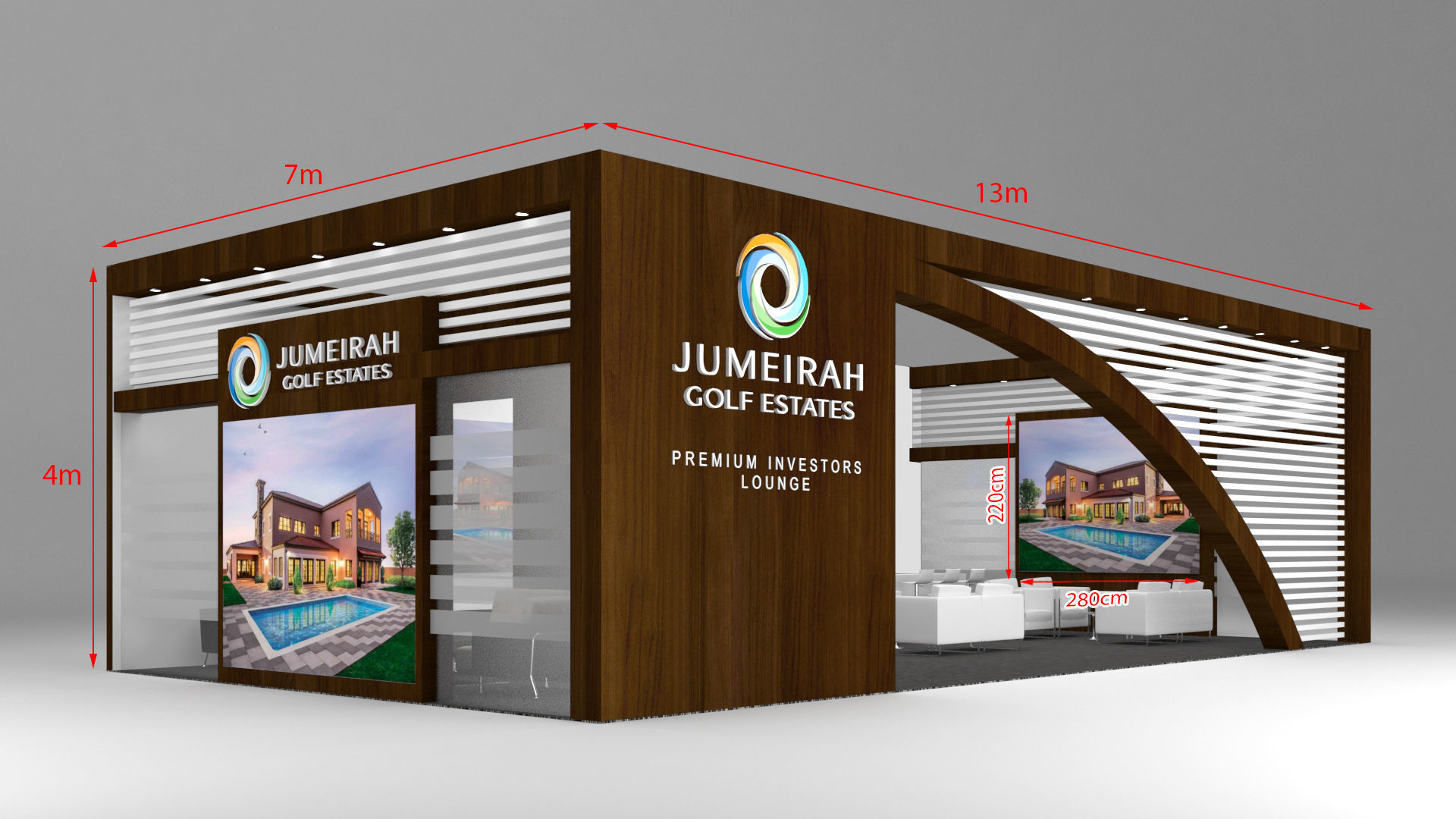 Exhibition Stand Or Booth : D exhibition stand booth m cgtrader