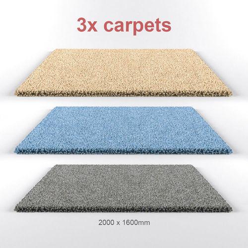Carpets 3D Model MAX