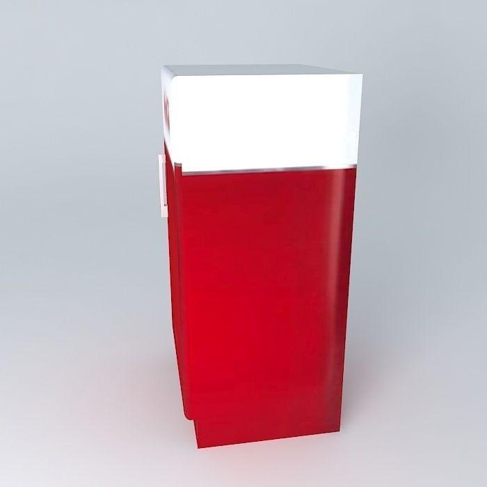 coca cola cabinet houses the world 3d model max obj 3ds fbx stl dae. Black Bedroom Furniture Sets. Home Design Ideas