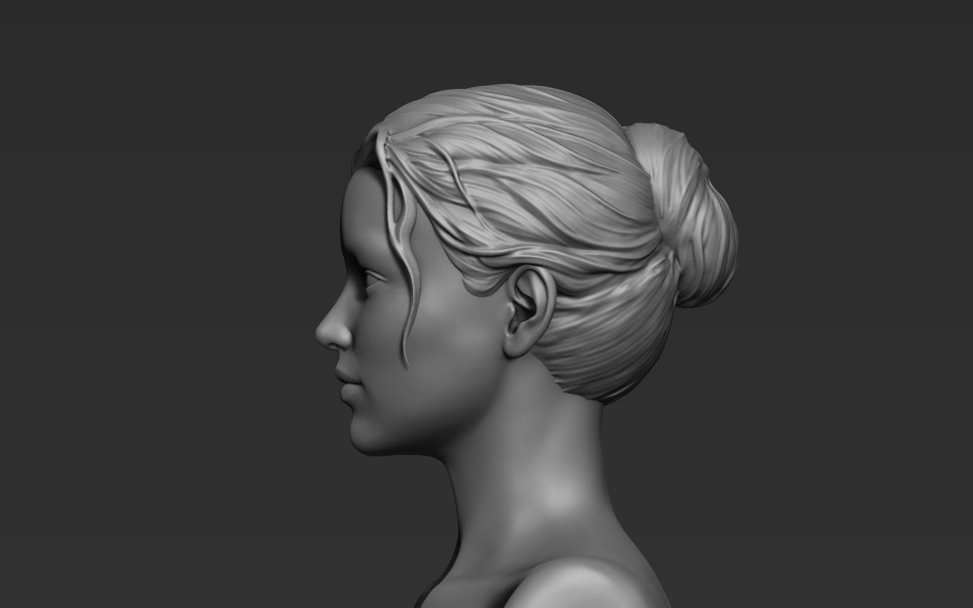 Hair Sculpt 07