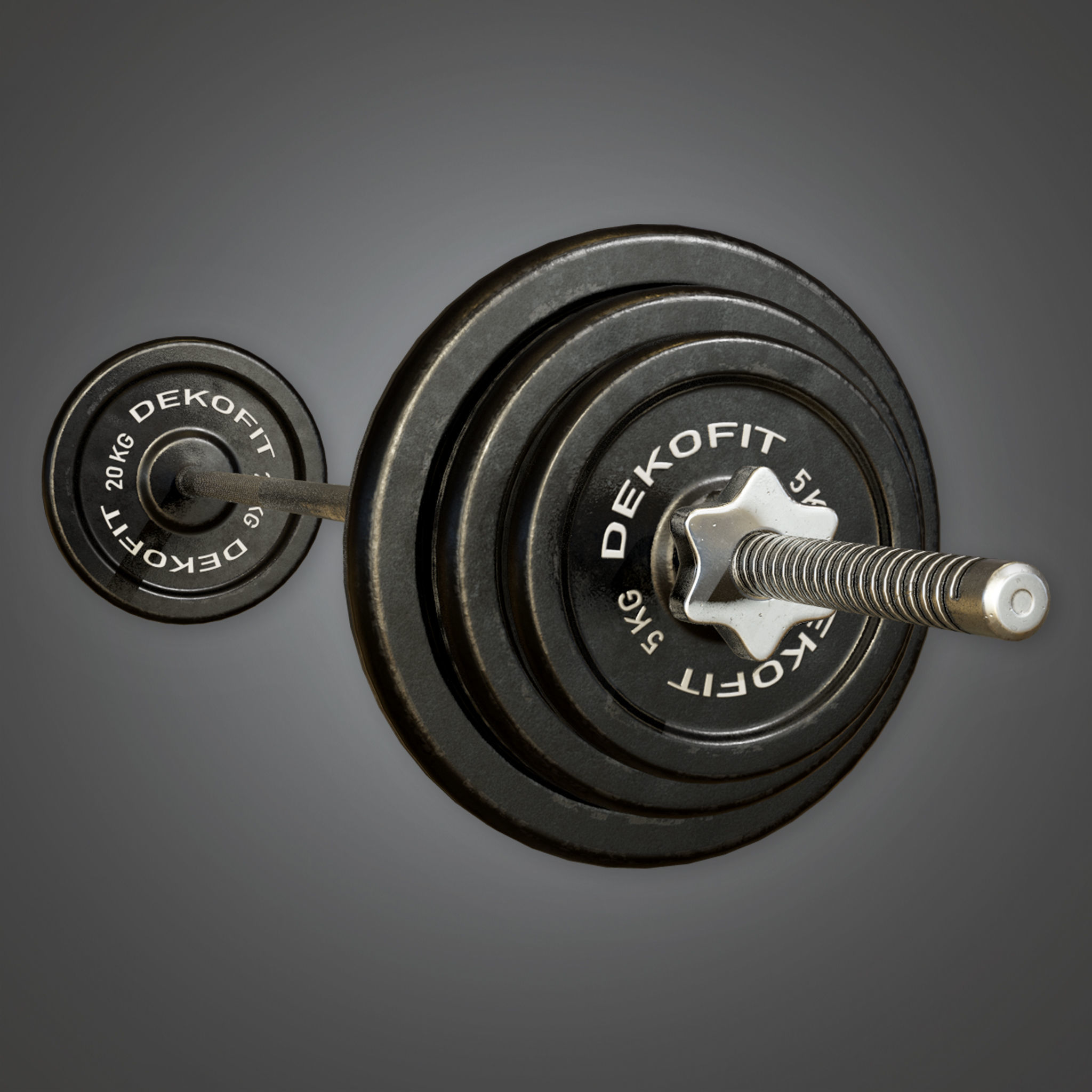 SAG - Gym Weight Set 01 - PBR Game Ready