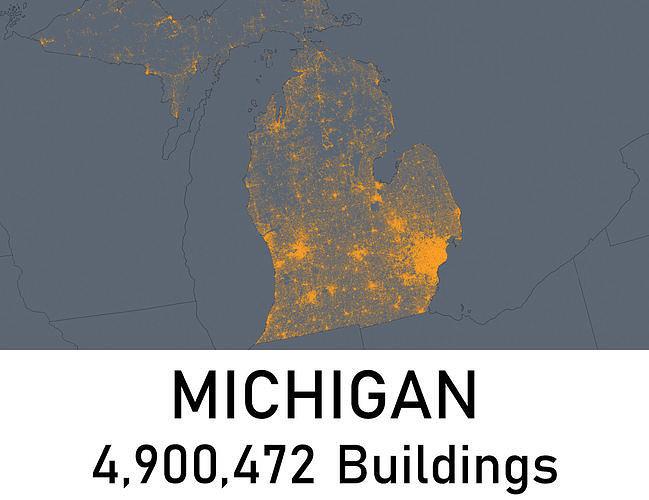 michigan - 4900472 3d buildings 3d model obj mtl fbx blend 1