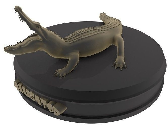 Alligator Printable