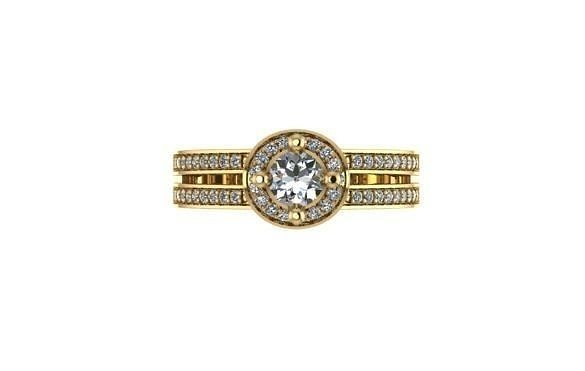 diamond Ring modern 6