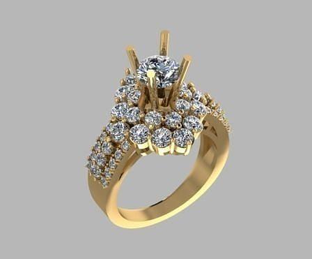 diamond Ring modern 15