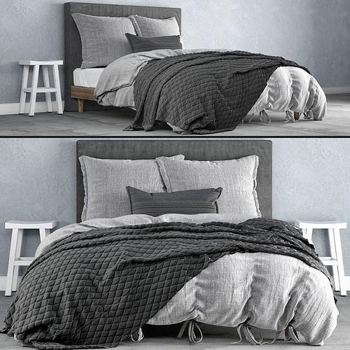bedroom set 18 3d model max obj mtl fbx 1