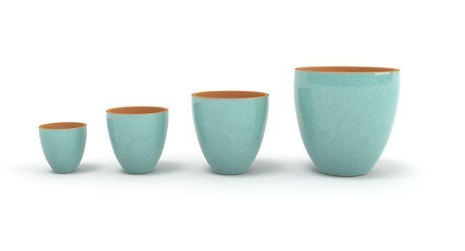 blue pots 3d model max obj mtl fbx mat 1