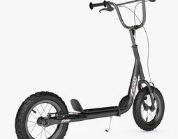 Kick Scooter Bike Novatrack 3D Model