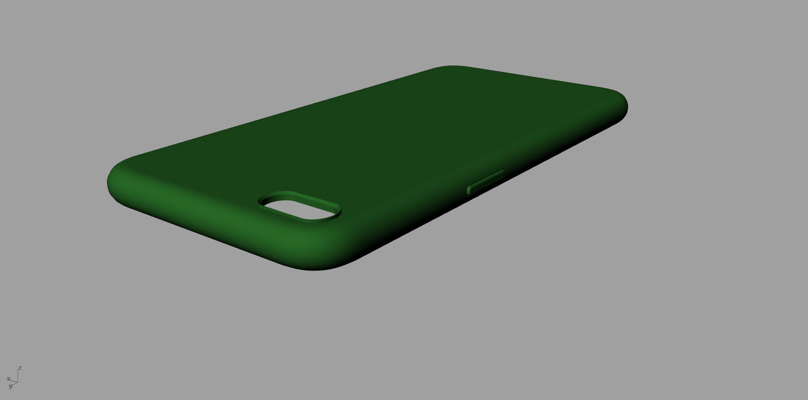 separation shoes dbe77 cee72 Iphone 8plus green case 3D model | 3D Print Model