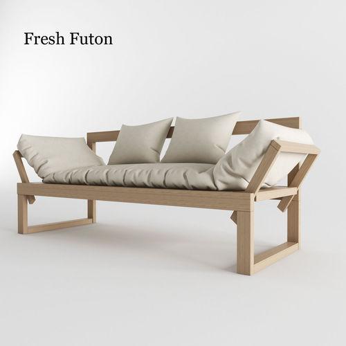 3D Futon Model
