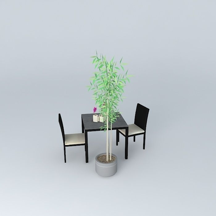 garden furniture miami maisons du monde 3d model max obj 3ds fbx stl dae. Black Bedroom Furniture Sets. Home Design Ideas