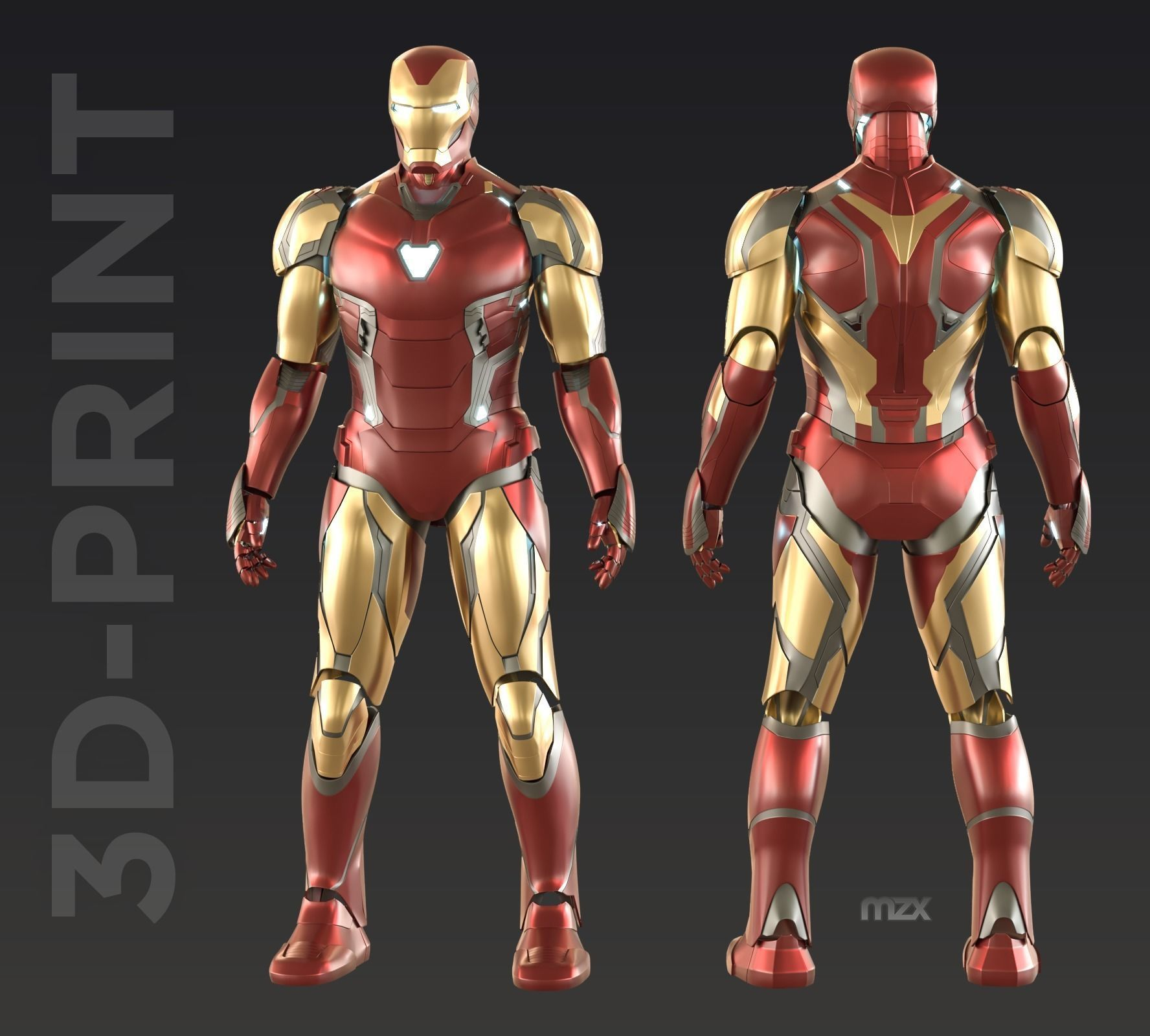 Iron Man Mark 85 wearable suit for 3D-printing DIY | 3D Print Model