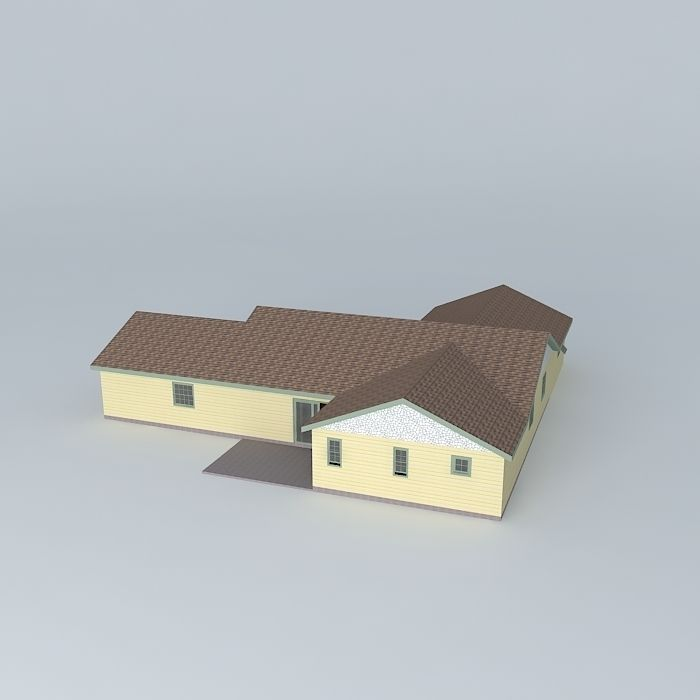 3d Home Design Deluxe 6 Free Download: Duplex House Free 3D Model MAX OBJ 3DS FBX STL DAE