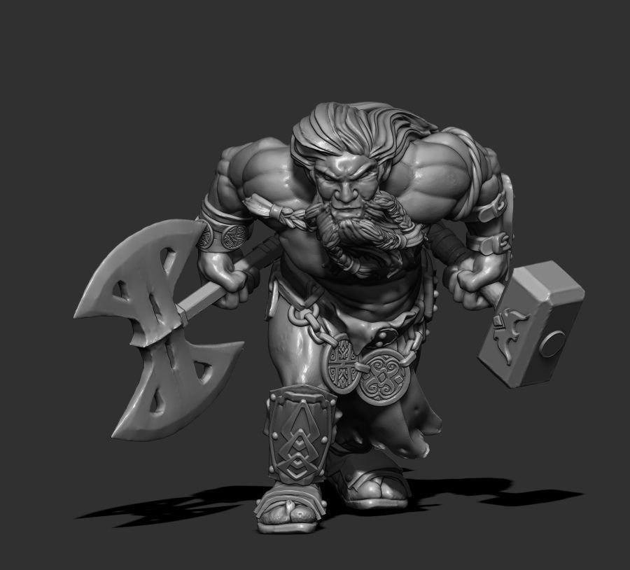 Giant Dwarf - 39mm height -