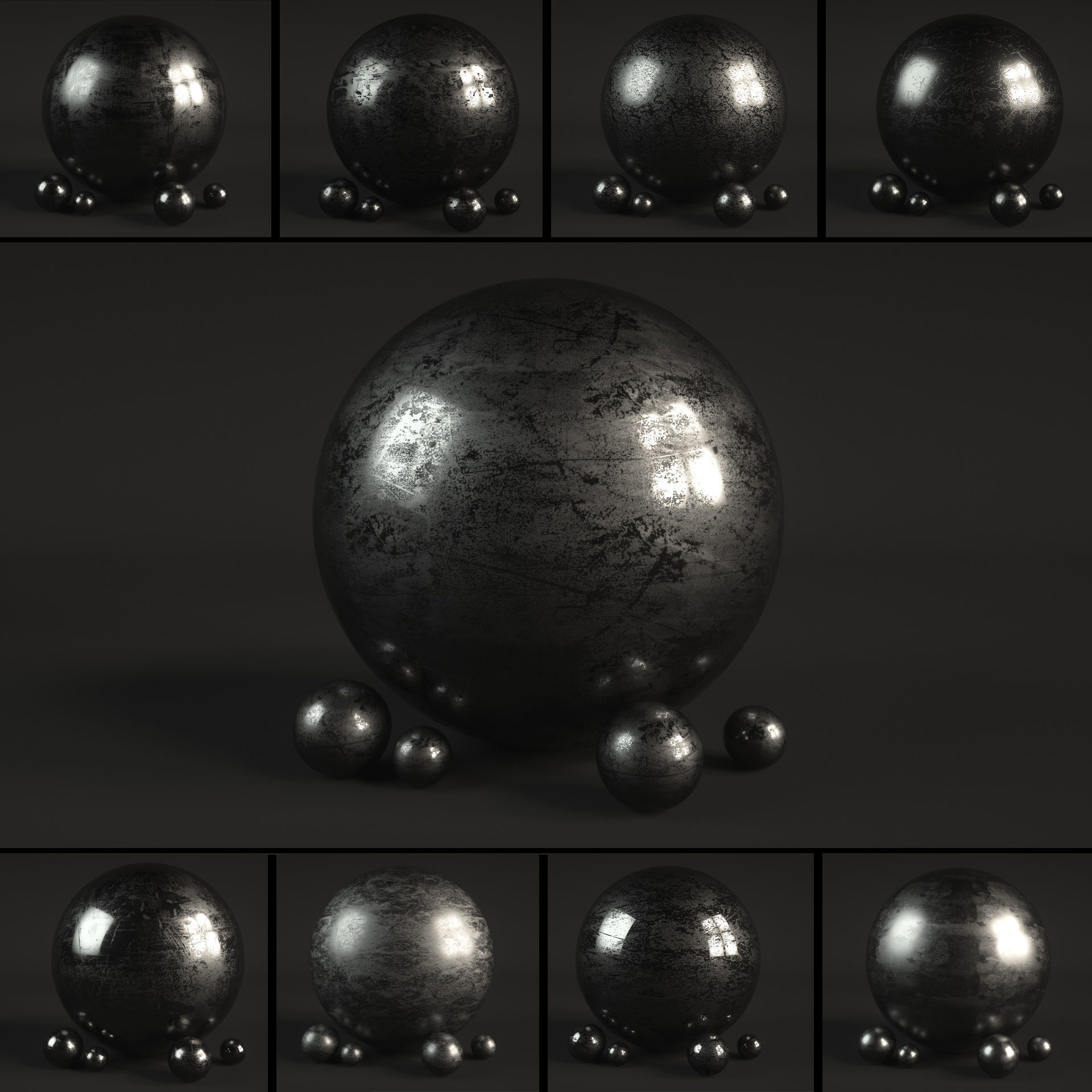 14 Roughness Material Shaders for C4D Octane Render | Texture