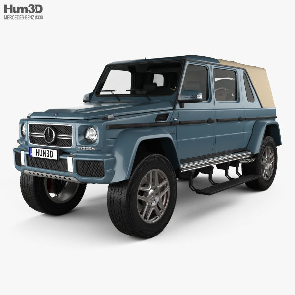 Mercedes-Benz G-class Maybach Landaulet with HQ interior 2017