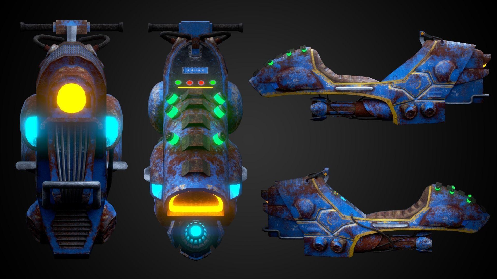 Sci-fi bike