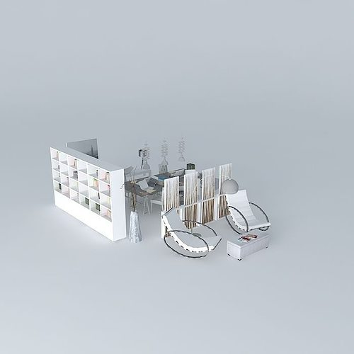 The helsinki office maisons du monde 3d cgtrader for Maison du monde job