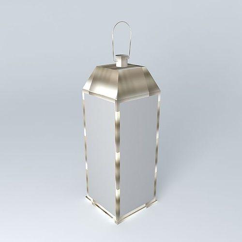 Maison Du Monde Lanterne.Lantern Chalut Maisons Du Monde 3d Cgtrader