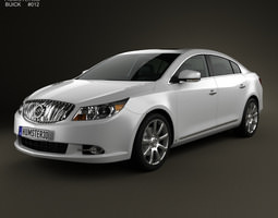 Buick LaCrosse Alpheon with HQ interior 2012 3D Model