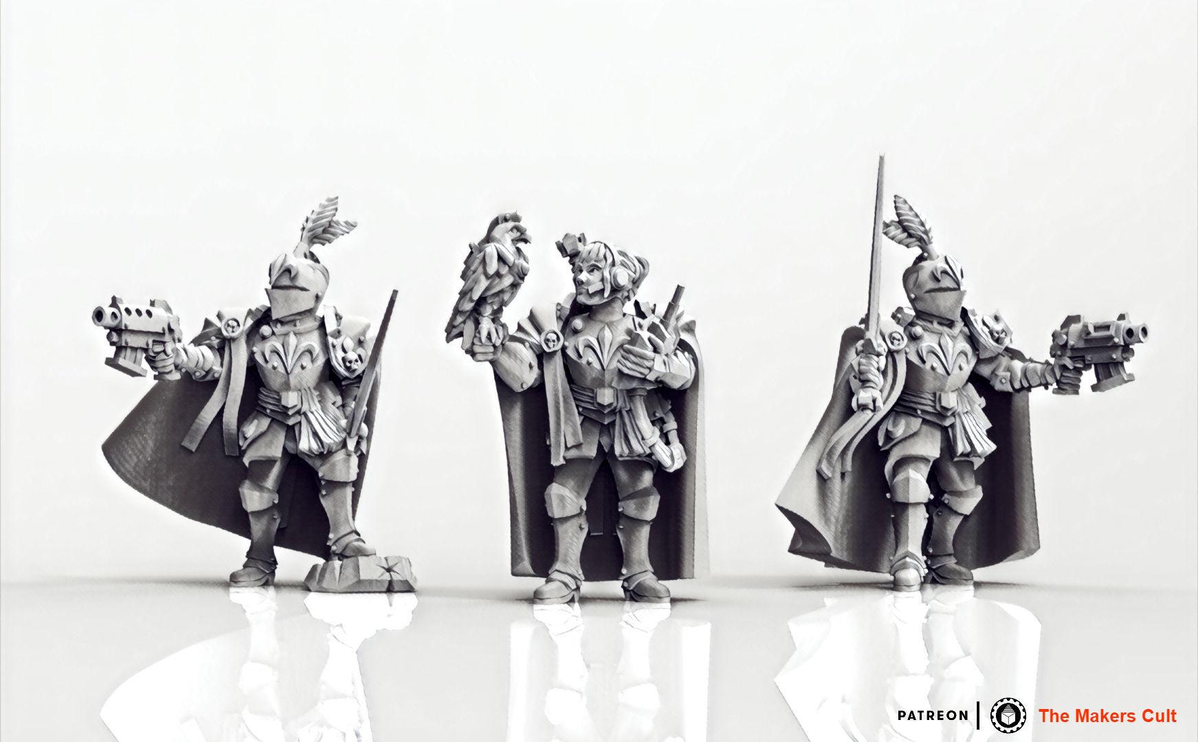 Feudal Guard Female Higher Officers female