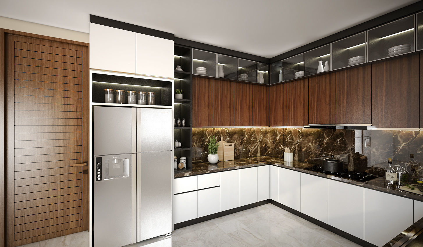 Kitchen Set sketchup 3D model | CGTrader on Model Kitchen Photo  id=23255