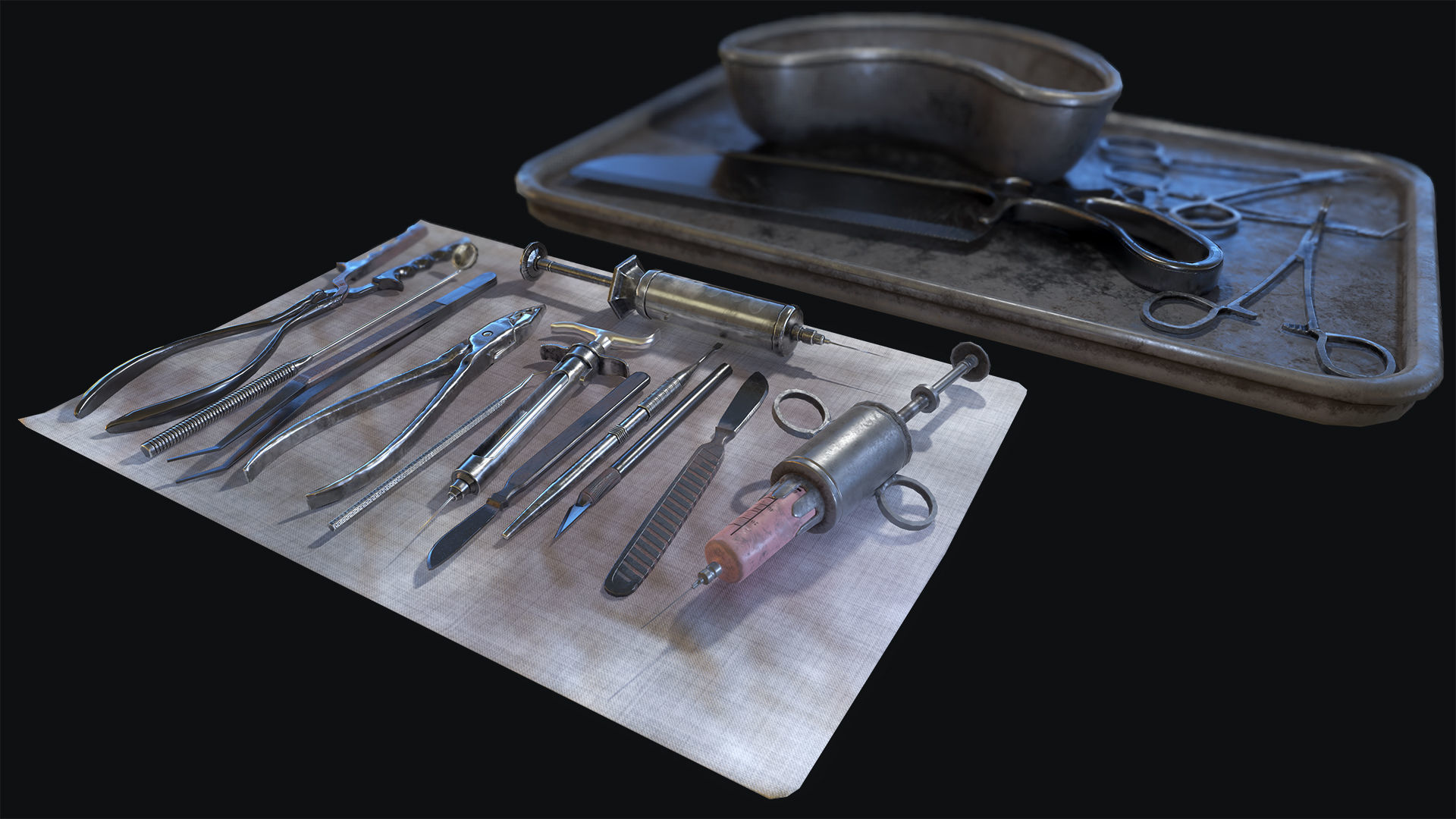 Old Surgical Tools
