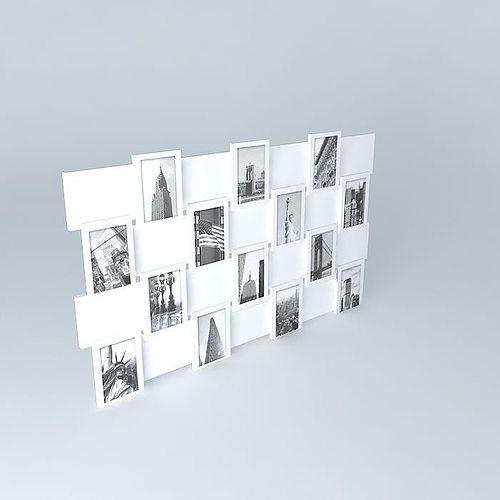 photo frame offset maisons du monde 3d model max obj mtl 3ds fbx stl dae 1
