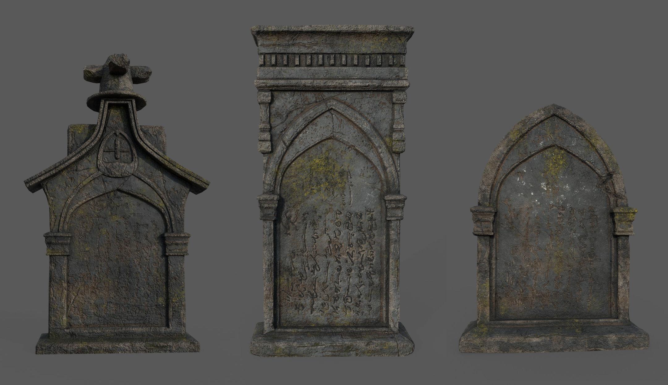Bloodborne Tombstones