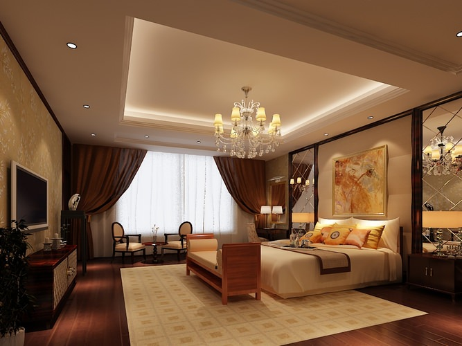3D Bedroom or Hotel Room Collection | CGTrader on New Model Bedroom  id=89772