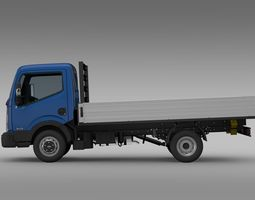Nissan NT400 Tipper 2016 3D Model