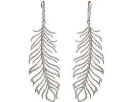 3D print model Feather earrings