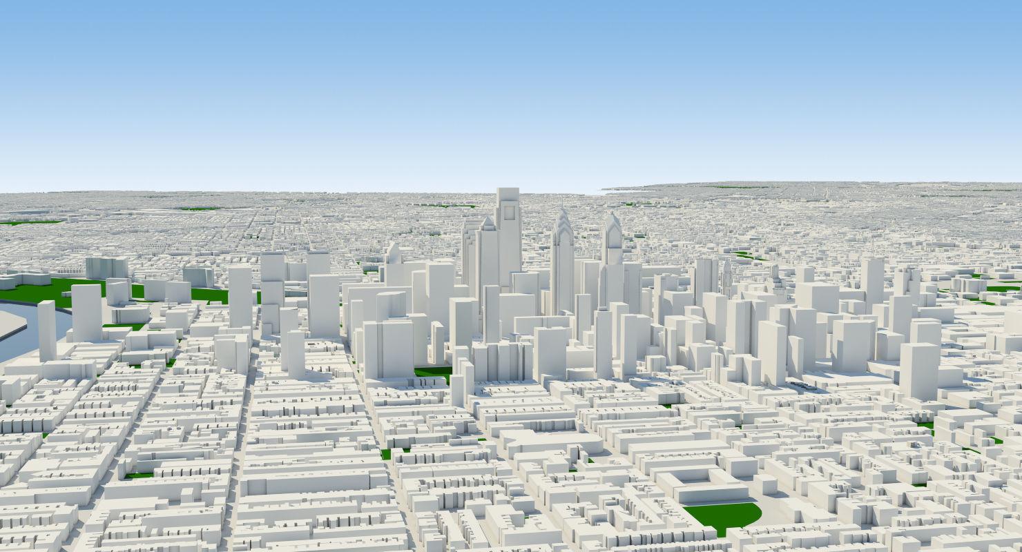 Philadelphia Full City | 3D model