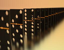 3D model Domino