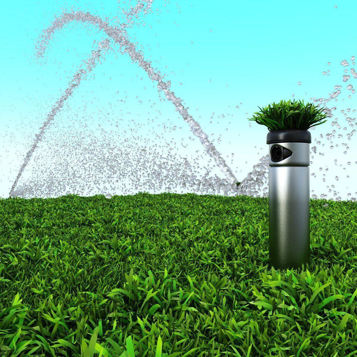 irrigation system hunter 3d model max obj fbx mtl mat 4