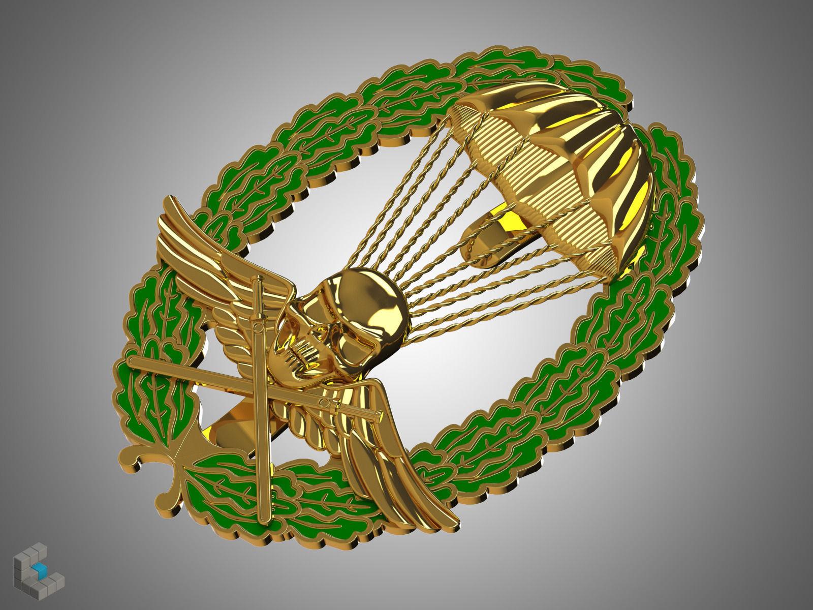 Royal Hungarian Army Parachutist Skill Badge