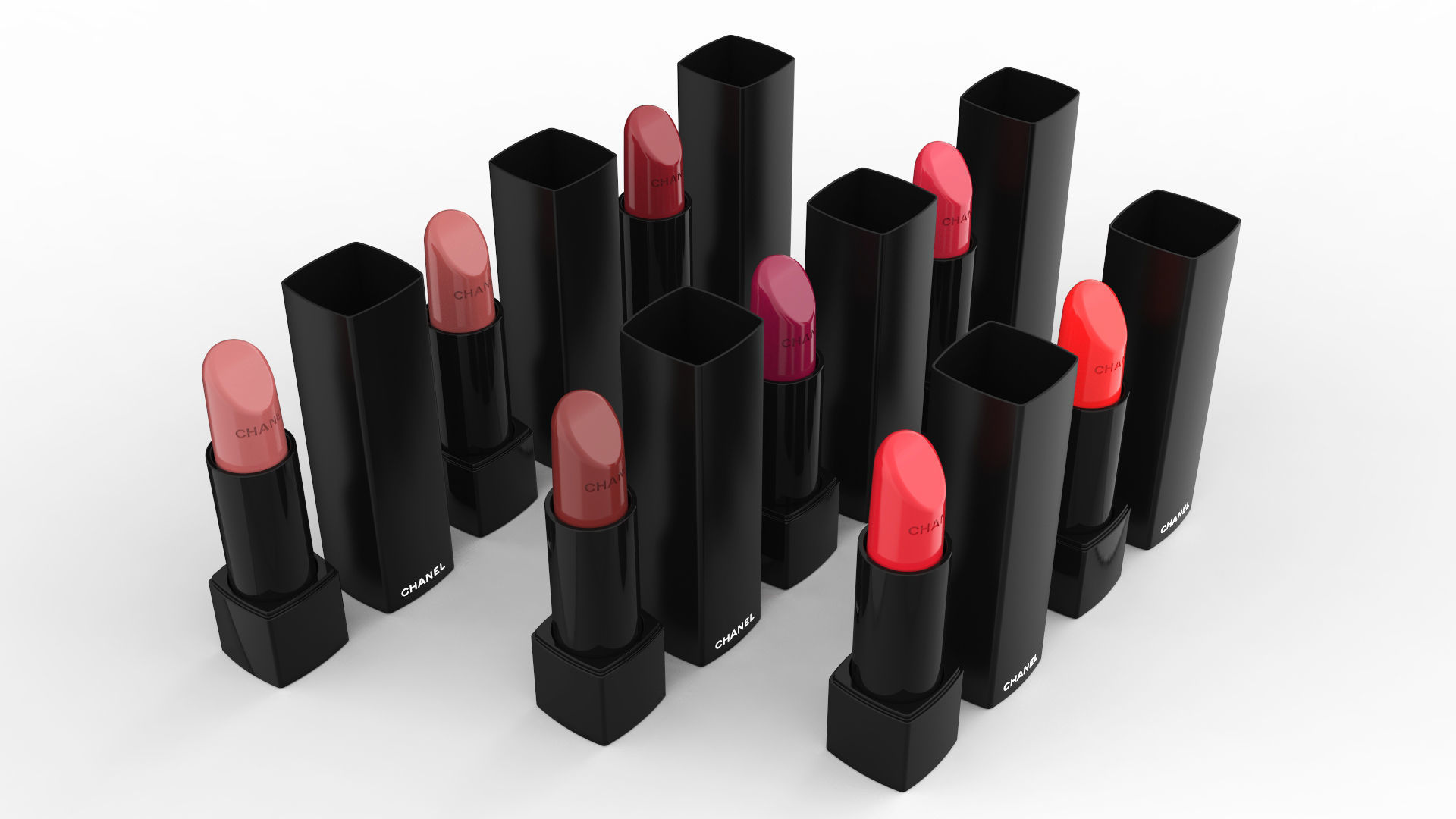 Chanel Rouge Allure Velvet Extreme Collection