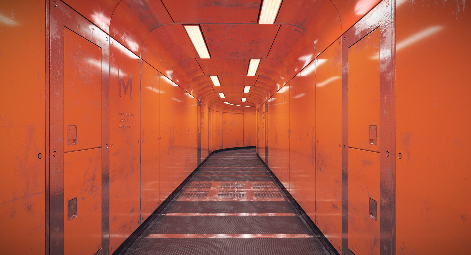 Spacecraft Corridor
