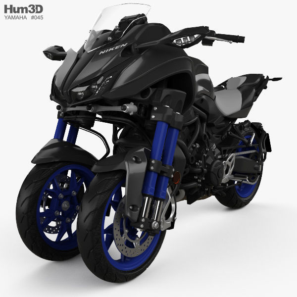 Yamaha Niken 2018 3d Model Cgtrader