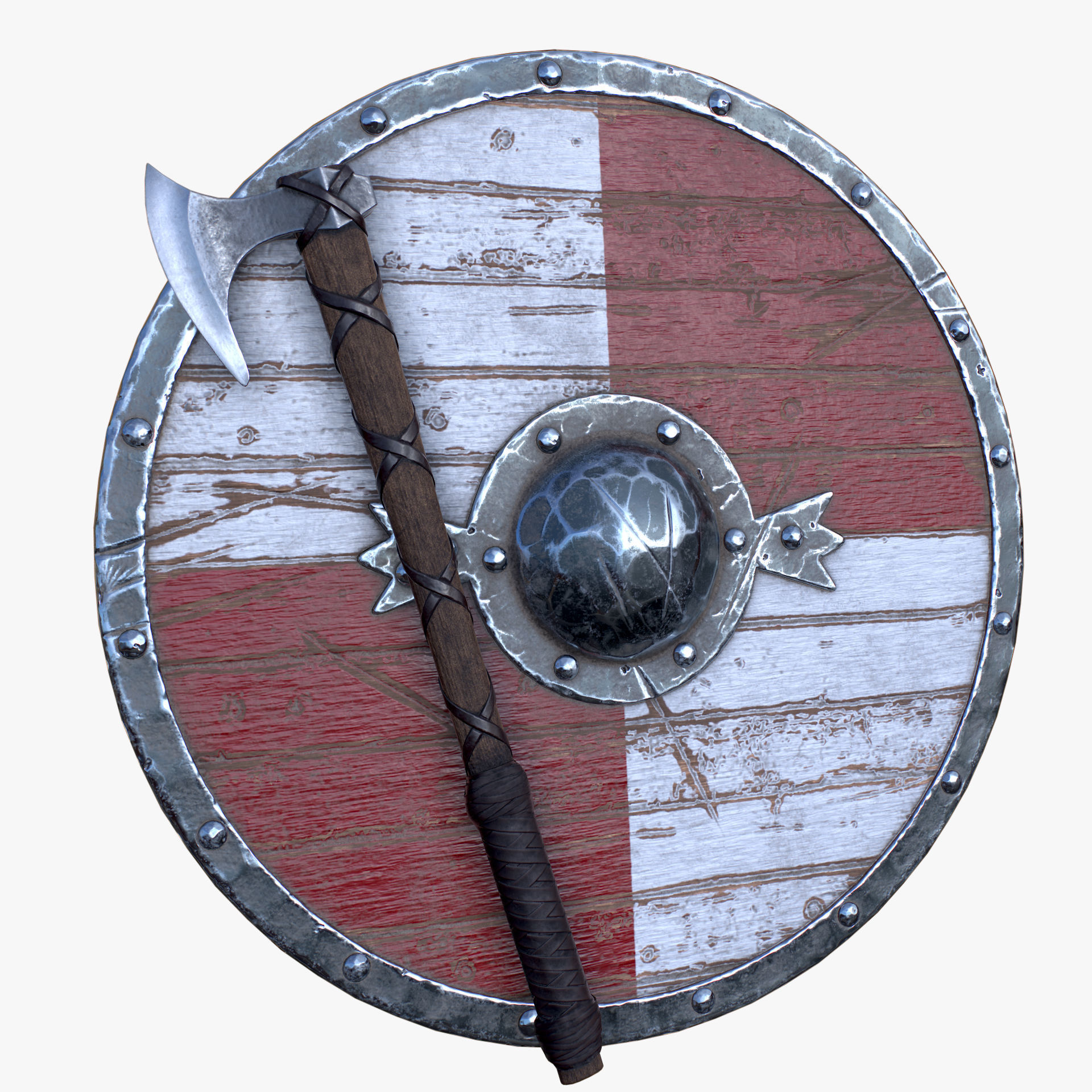 Axe and Shield