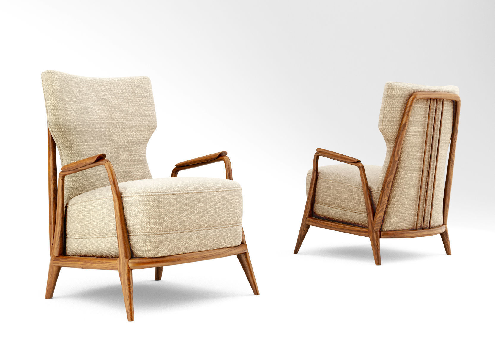 Giuseppe Scapinelli Lounge Chair